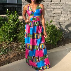 Dresses & Skirts - Colorful printed dress